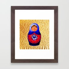 Trampbushka | Funny | Comedy Framed Art Print
