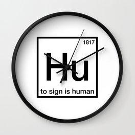 Hu Wall Clock