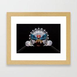 Leo Rising Framed Art Print