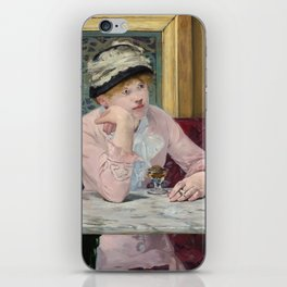 Manet,Fine Art,Beautiful,Wall Art,Framed,Poster,Canvas,Prints,Notebooks,Card,Gift,Gifts,Special,Rare iPhone Skin