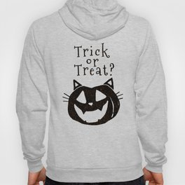 Trick or Treat? Halloween cat lady Hoody