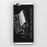 pun iPhone & iPod Skins featuring Moog pun by Alxndra Cook