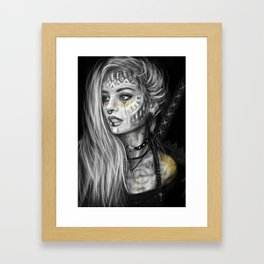 Thrive and Conquer Framed Art Print