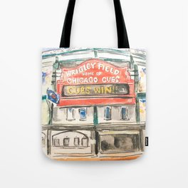 Wrigley Field Tote Bag