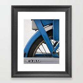 Ciao. Framed Art Print