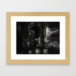 Hallween Queen 3 Framed Art Print