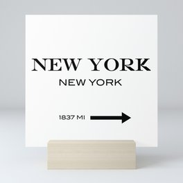 New York Mini Art Print