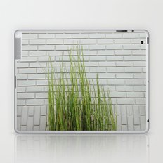 Green on White Laptop & iPad Skin