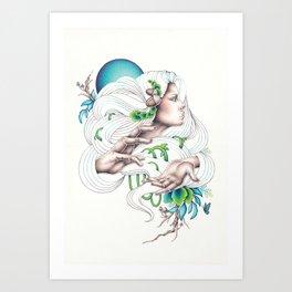 Earth Mother Art Print