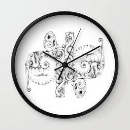 A Dragon Life Cycle Wall Clock