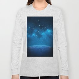 Virgo: Astrological Art Long Sleeve T-shirt
