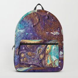 Copper Love Geode Backpack