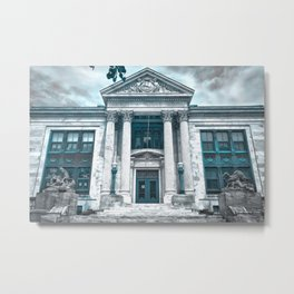 Colt School, Bristol RI Metal Print