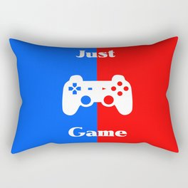 Just Game Rectangular Pillow