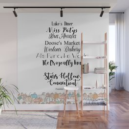 Stars Hollow, CT Wall Mural
