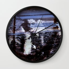 HIDDEN DESIRE Wall Clock