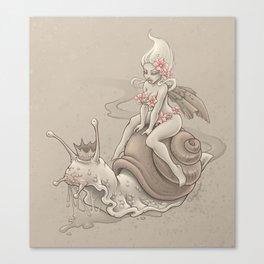 Snail Prince Canvas Print