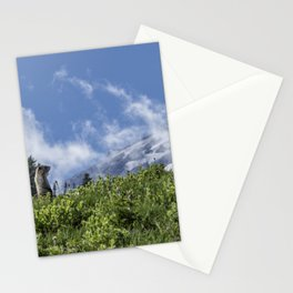 Marmot Checking Out His Neighborhood at Mount Rainier, No. 1 Stationery Cards