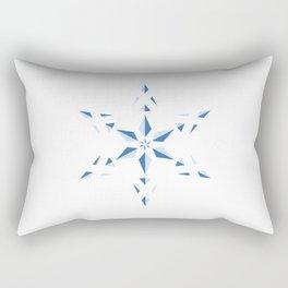 Duotone Star Rectangular Pillow