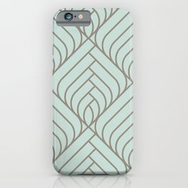 Art déco geometric pattern  for fine home decoration iPhone Case