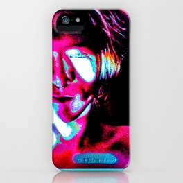 She Defies Explanation iPhone Case