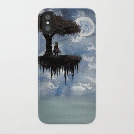 The Girl Among The Stars iPhone Case