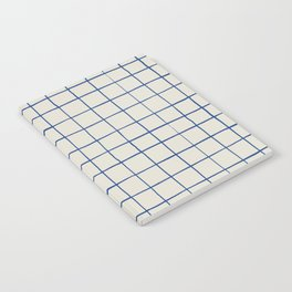 BASIC | Criss Cross Blue Notebook