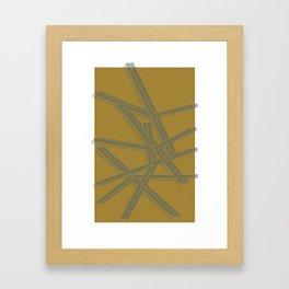 sticks Framed Art Print