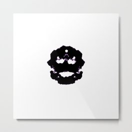 Rorschach inkblot Metal Print