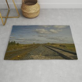 into the middle of nowhere Rug