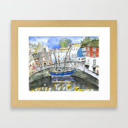 Padstow Harbour, Cornwall Framed Art Print