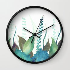 Botanical vibes 04 Wall Clock