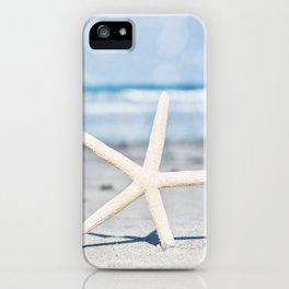 Starfish By The Seashore  iPhone Case