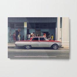 old car Metal Print