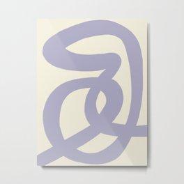 Modern Minimal Abstract #9 Metal Print