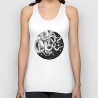 octopus Tank Tops featuring Octopus by Corinne Elyse