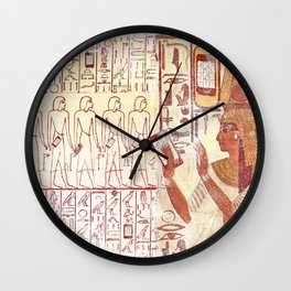 Ancient Egypt smartphones Wall Clock