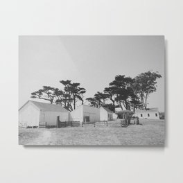 PIERCE RANCH / Point Reyes, CA Metal Print