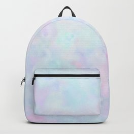 Rainbow Unicorn Pastel Fluffiness Backpack