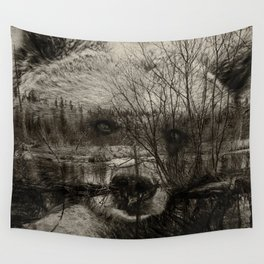 Bear Pond Wall Tapestry