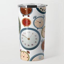 Clocks Travel Mug