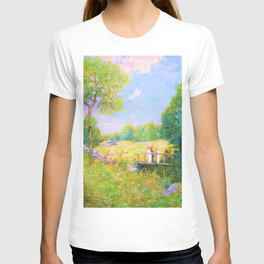 Julian Alden Weir - The Fishing Party - Digital Remastered Edition T-shirt