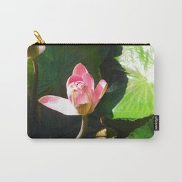 Hanalei Lotus, by Mandy Ramsey, Haines, AK Carry-All Pouch