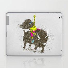 Ride a buffalo Laptop & iPad Skin
