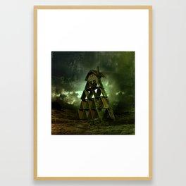 Foundation of Broken Hearts Framed Art Print