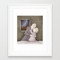 storm Framed Art Prints featuring Storm  by Steve Bonello