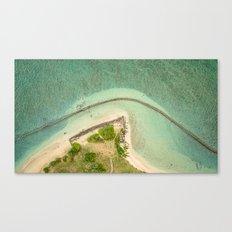 Kualoa From Above Canvas Print