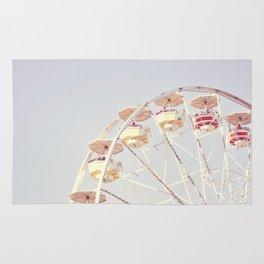 Vintage Ferris Wheel Rug