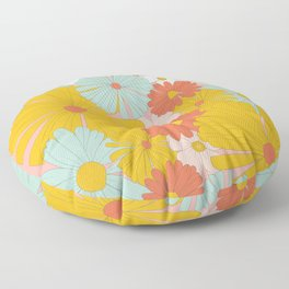 Spring Floral Floor Pillow