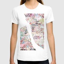 Liverpool map T-shirt